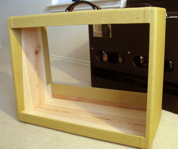 Green Eagle Amps - Hot Rod Deluxe Pine Cabinet